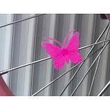 Велосипед 881 розовый, принцессы, колеса16 с корзинкой, вспомогательные колеса, детский, прогулочный, фото 2