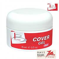 Гель Blaze Cover Pink Gel, 15 мл натуральгого цвета
