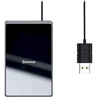 Baseus Wireless Charger Card Ultra Thin 15W Black (WX01B-01)