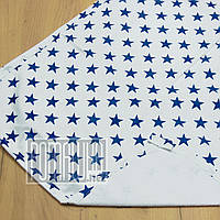 Двухсторонняя впитывающая детская 80*60 водонепроницаемая махровая пеленка для новорожденных 8073 Синий