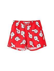 Чоловічі пляжні короткі шорти у великому розмірі