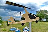 Садовый флюгер ветряк Автожир (Вертолет), фото 6