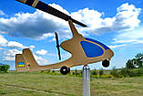 Садовый флюгер ветряк Автожир (Вертолет), фото 5