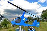 Садовый флюгер ветряк Автожир (Вертолет), фото 7