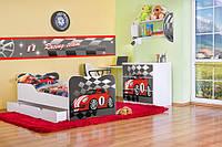 """Кровать детская машина """"super auto"""" № 27"""