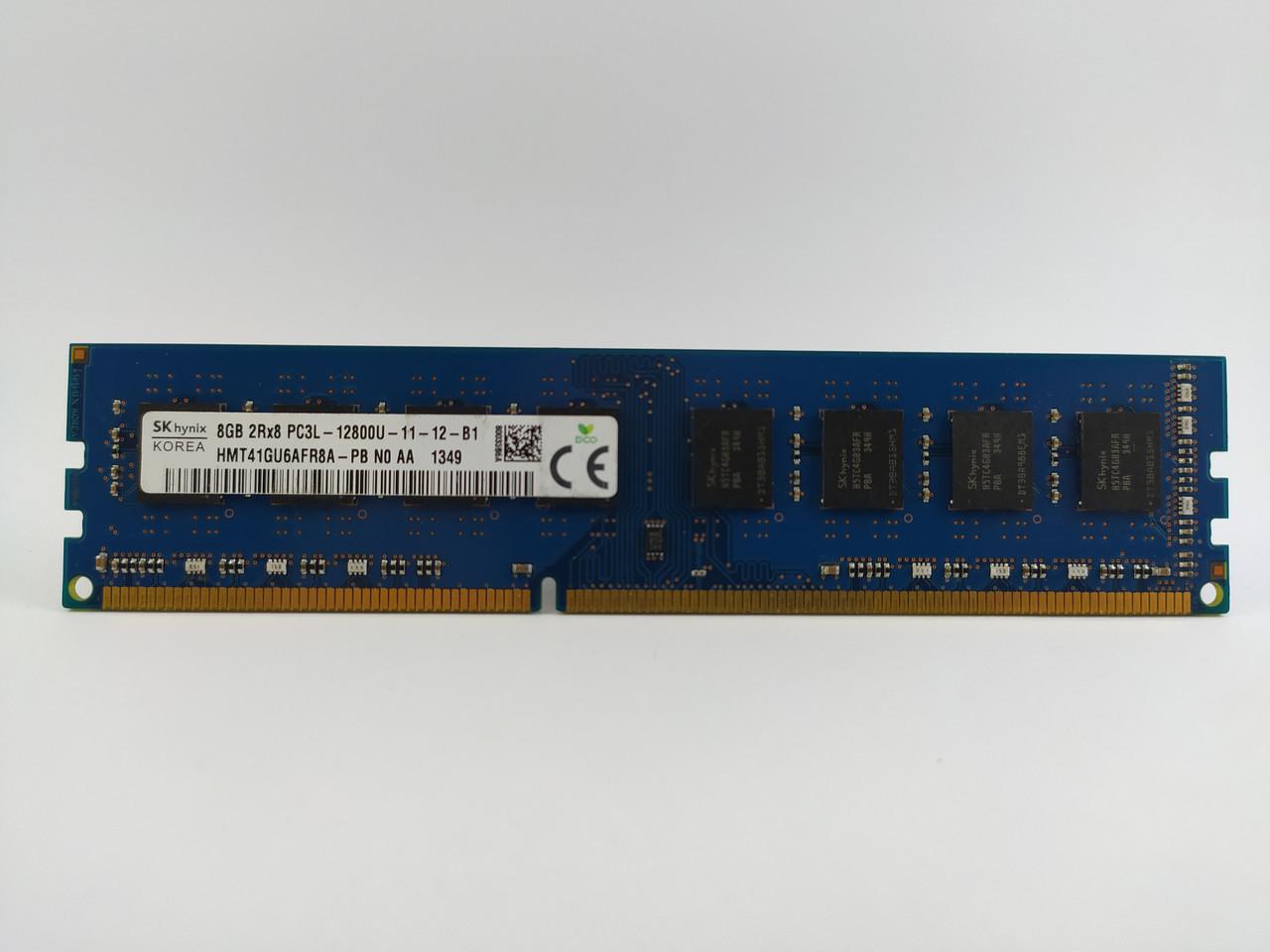 Оперативная память SK Hynix DDR3L 8Gb 1600MHz PC3L-12800U (HMT41GU6AFR8A-PB) Б/У