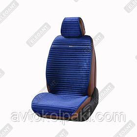 Накидки на автомобильные сидения Elegant Maxi NAPOLI синие перед