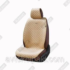 Накидки на автомобильные сидения Elegant Maxi PALERMO бежевые перед