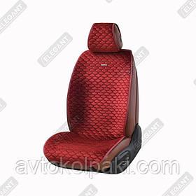Накидки на автомобильные сидения Elegant Maxi PALERMO красный перед