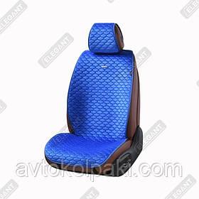 Накидки на автомобильные сидения Elegant Maxi PALERMO синие перед