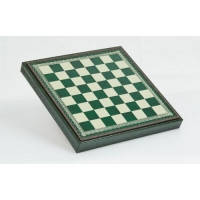 Nigri Scacchi - Шахматное поле-бокс с местом для укладки шахмат (зеленая доска) Box verde - Доска 35х35х4 см (CD33) ( EDP58643 )