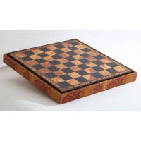 Nigri Scacchi - Коричневая доска-бокс старинная карта Box mappa - Доска 35х35х4 см (CD35M) ( EDP58646 )