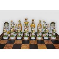 Nigri Scacchi - Шахматные фигуры Giostra medievale (big size) - Средневековый рыцарский турнир - Фигуры 9,5-13 см (SP12) ( EDP58622 )