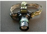 Оригинал! Аккумуляторный ударостойкий налобный фонарь, водонепроницаемый фонарик Police MONT BL-6803