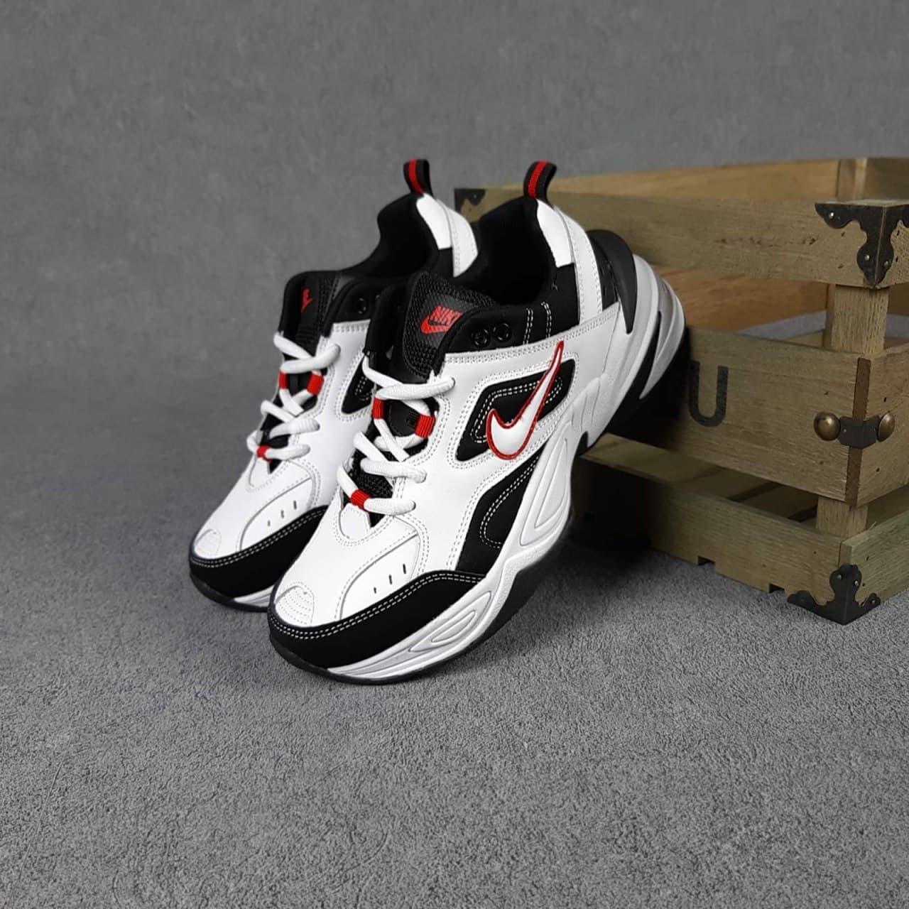 Женские кроссовки Nike M2K Tekno черно-белые