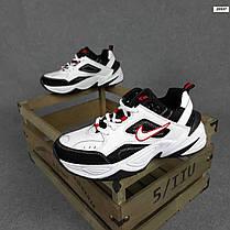 Женские кроссовки Nike M2K Tekno черно-белые, фото 3