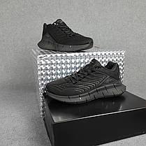 Мужские кроссовки Reebok Zig Kinetica чёрные, фото 2