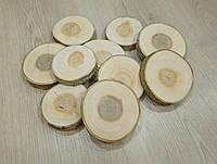 Спил дерева шліфований 6-8 див. Тополя