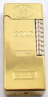 Зажигалка кремниевая слиток золота