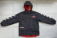Двусторонняя весенняя куртка-ветровка на юниора