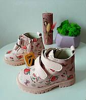 Ботинки для девочки демисезонные Clibee Клиби