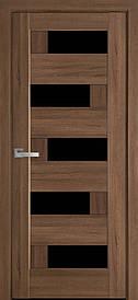 Двері Новий Стиль Піана скло BLK