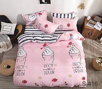 ТМ TAG Комплект постельного белья с компаньоном двухспальное