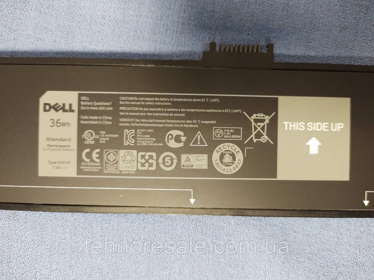 НОВА ОРИГІНАЛЬНА батарея для планшета Dell venue 11 pro 7130 7139 HXFHF
