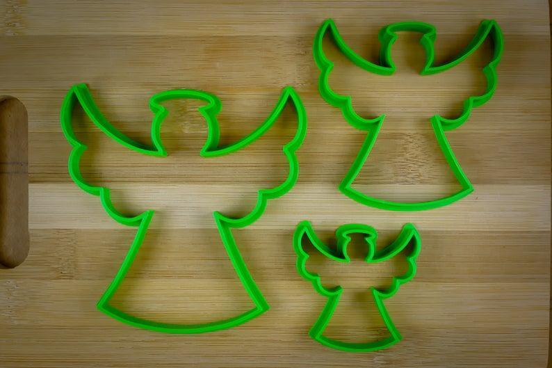 3Д Формочки Ангели Форми для пряників Янголята Вирубка для печива Ангели Каттери Янголята