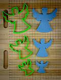 3Д Формочки Ангели Форми для пряників Янголята Вирубка для печива Ангели Каттери Янголята, фото 2