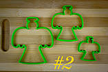 3Д Формочки Ангели Форми для пряників Янголята Вирубка для печива Ангели Каттери Янголята, фото 3