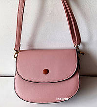 Акция Женская розовая сумочка. Небольшая сумка через плечо. Женский клатч кожа. СЛ52