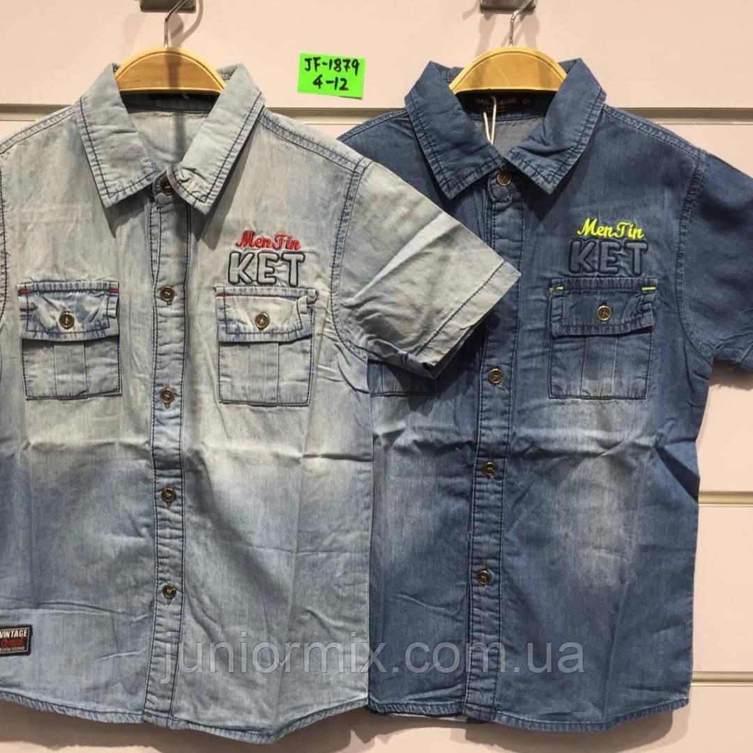 Сорочка джинсова на хлопчика оптом Н&М