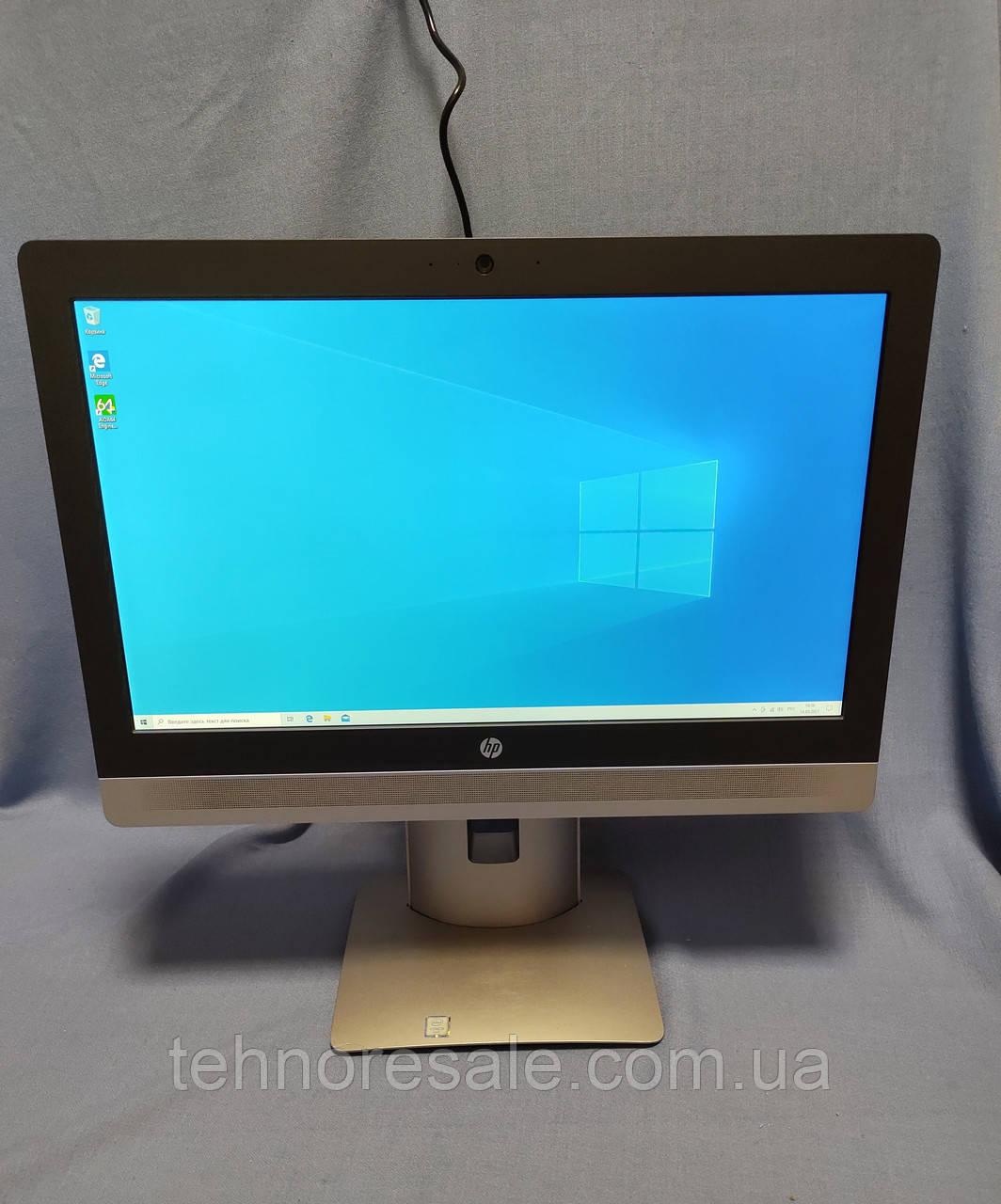 Моноблок HP ProOne 600 G2, 22'', i5-6500, DDR4 8Gb, SSD 256Gb, Wi-Fi, вебкамера+мікрофон