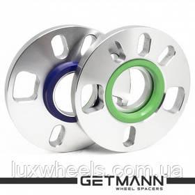 Колесная проставка GETMANN 15мм PCD 5x114.3 DIA 67.1 Литая (Mazda, Mitsubishi, Hyundai, Kia, Peugeot 4007, 400