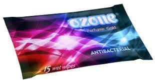 """Влажные салфетки парф.GOLD""""OZONE"""" (15шт)"""