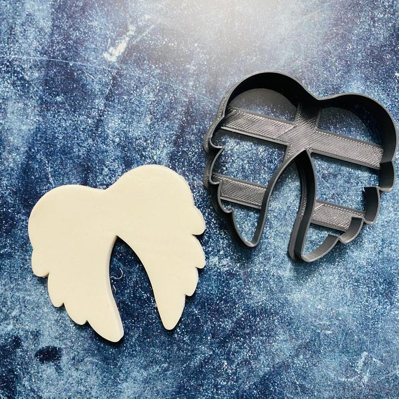 3Д Формочки крила ангела різні Форми для пряників крила Вирубка для печива ангельські крила