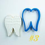 3Д Формочки крила ангела різні Форми для пряників крила Вирубка для печива ангельські крила, фото 3