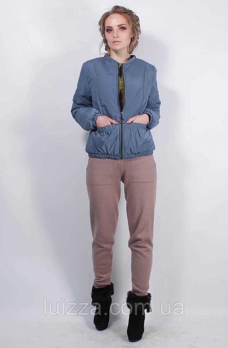 Женская весенняя куртка  42-56р, джинс
