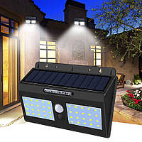 Водонепроницаемый светильник, фонарь, прожектор, лампа с датчиком движения на солнечных батареях Light YH 818