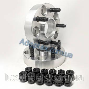 Колісна проставка-адаптер GETMANN 30мм PCD 5x114.3 DIA 56.1 зі шпильками 12x1.25 для Subaru (Кований Алюміній