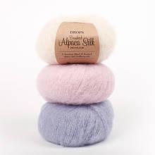 Пряжа Drops Brushed Alpaca Silk