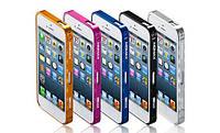 Чехол-Бампер алюминиевый для iPhone 5/5S - Momax Pro Frame