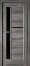 Двері Новий Стиль Грета скло BLK