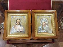 Вінчальна пара Пресвята Богородиця і Спаситель 27х24см