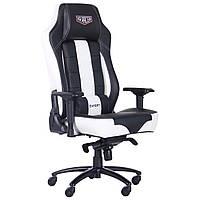 Геймерське крісло VR Racer Expert Superb чорний/білий, TM AMF