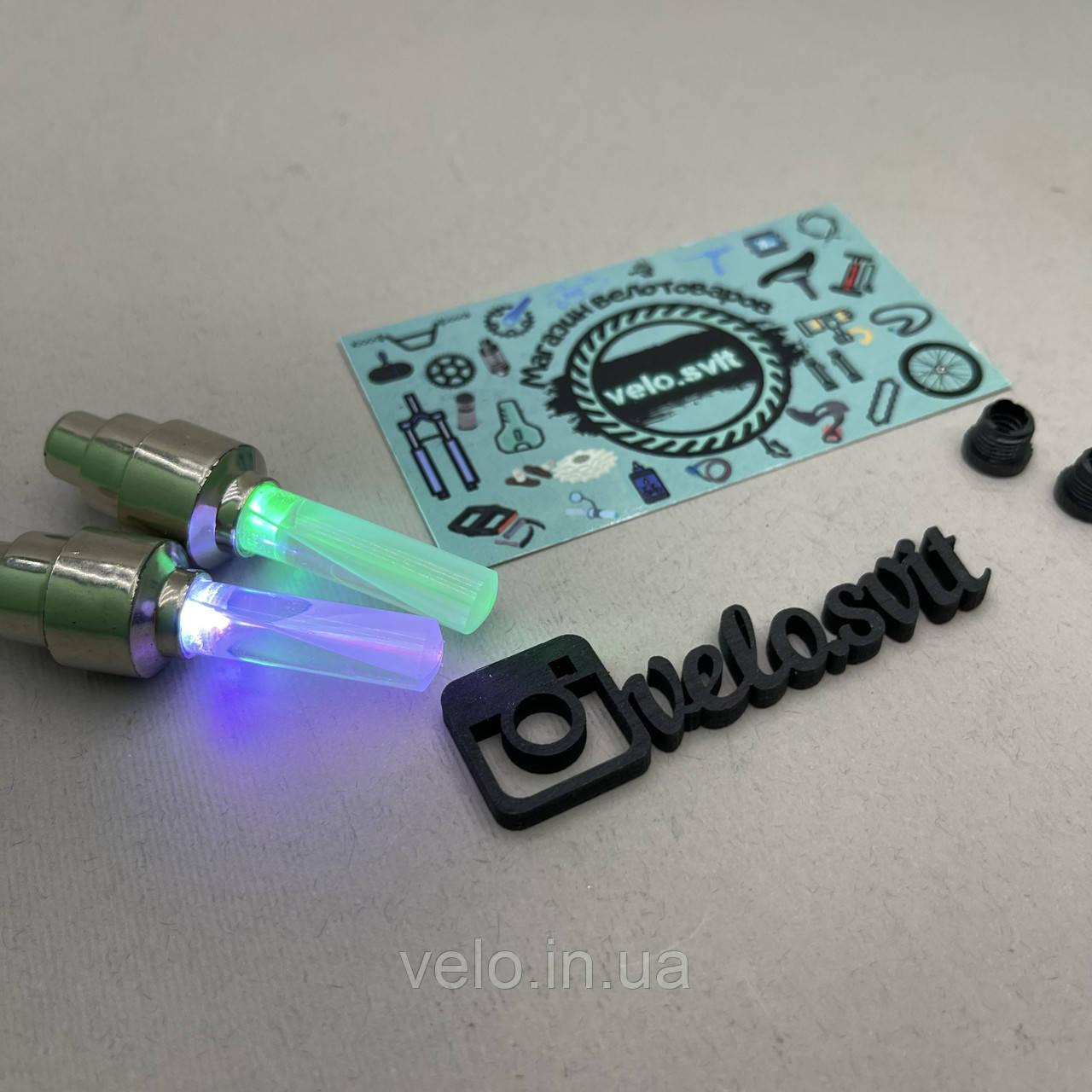 Светодиодная подсветка колес велосипеда  разноцветная