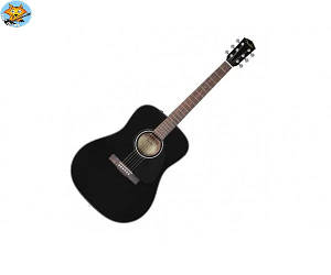 Акустическая гитара Fender CD60 V3 WN Black