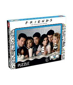 Пазл 1000 Piece Jigsaw Puzzle Friends Milkshake