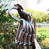 Алюминиевый карабин D-Ring, фото 5